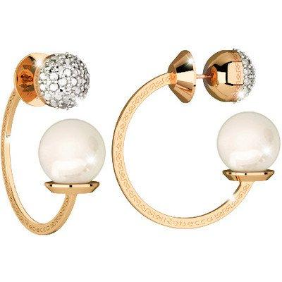 Boucles d'oreilles Femme Bijoux Rebecca Hollywood Pearl Casual Cod. bhoooo47
