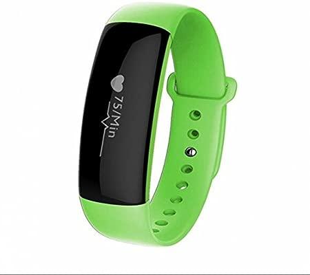 Smart pulsera Monitor de frecuencia cardiaca, alarma reloj ...