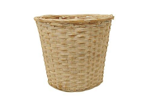 Wald Imports Whitewash Rattan Basket product image