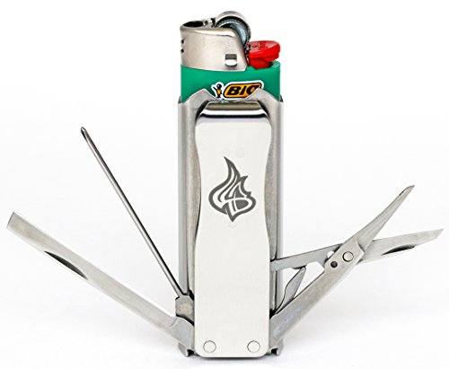 LighterBro Stainless Steel Icon Lighter ()