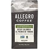 Allegro Coffee, Coffee Decaf Colombia El Premio De Timana Ground, 12 Ounce