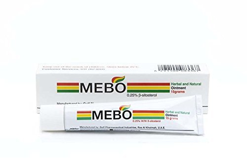 Oil Burn First Aid (MEBO BURN Fast Pain Relief Healing Cream Leaves No Marks 15 Grams)