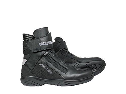 Daytona Arrow Sport GTX Men's Leather Motorcycle Boots Black