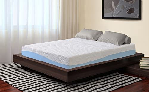 Sleeplace Aquarius Memory Foam Mattress, TWIN