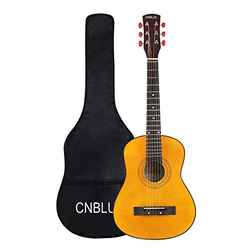 Strong Wind 6 String Acoustic Guitar, Right, 30 Inch (