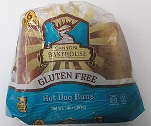Canyon Bakehouse Gluten-free Hot Dog Buns 4pack