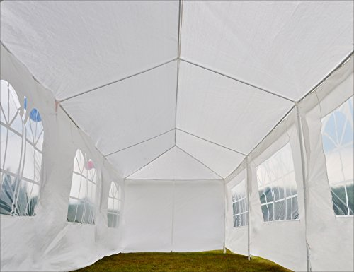 GOJOOASIS Canopy Tent Wedding Party Tent 10' x 30' with 8