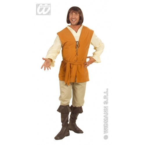 Mens Peasant Man Costume Extra Large UK 46