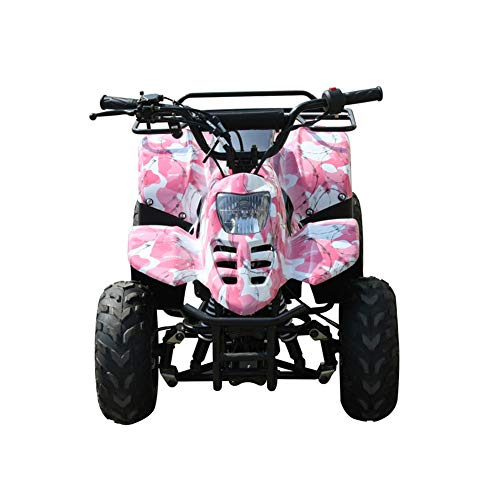 (Powersportsgalaxy Youth ATVs Tumbleweed-HD 110cc Youth Four Wheelers 30+ MPH (camo Pink))
