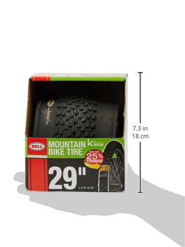 Bell Traction Mountain Tire, 29'' x 2.10'', Black by Bell (Image #4)