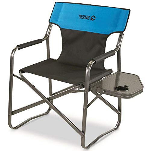 Kaputar Oversized Camping Lounge Chair Large Folding Outdoor Portable Heavy Duty 500 lbs | Model CMPNGCHR - 63