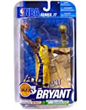 McFarlane Toys NBA Sports Picks Series 17 2009 Wave 2 Action Figure Kobe Bryant (Los Angeles Lakers) Yellow Jersey with Trophy Bronze Collector Level Chase