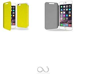 Vert Collection Exception Funda de Cuero para Iphone 6 Plus 5.5 Flip Case Cover (Estuche) - FUNDA SOPORTE / PU Cuero - Accesorios Case Industry Smart Magnet