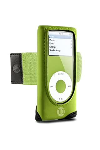 DLO Action Jacket for iPod nano 1G, 2G (Green) - Dlo Action Jacket Soft Case