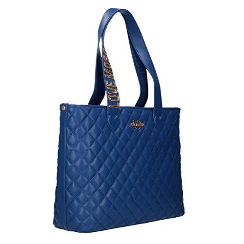 Amore Moschino Shopping Bag Pu Blu