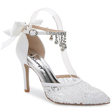 Zormey Women'S Sandals Summer Fall D'Orsay &Amp; Two-Piece Silk Customized Materials Wedding Outdoor Office &Amp; Career Party &Amp; Evening Dress Casual White Us6.5-7 / Eu37 / Uk4.5-5 / Cn37 US6.5-7 / EU37 / UK4.5-5 / CN37