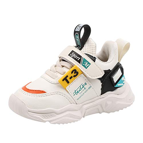 Newmao Boys Girls Sneaker First Walking Shoes Unisex Child Casual Lightweight Outdoor Soft Sports Shoes