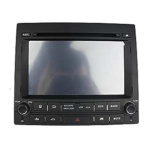 kunfine Octa Core Android 6.0 Coche Reproductor de DVD GPS navegación Multimedia estéreo para Peugeot 405 Autoradio Control de Volante con 3 G WiFi ...