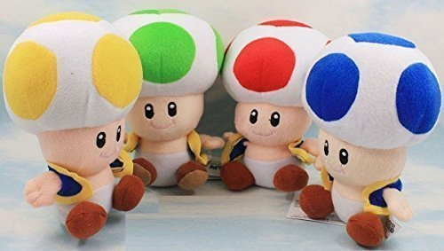 Super Mario Bros Plush Anime 6.7