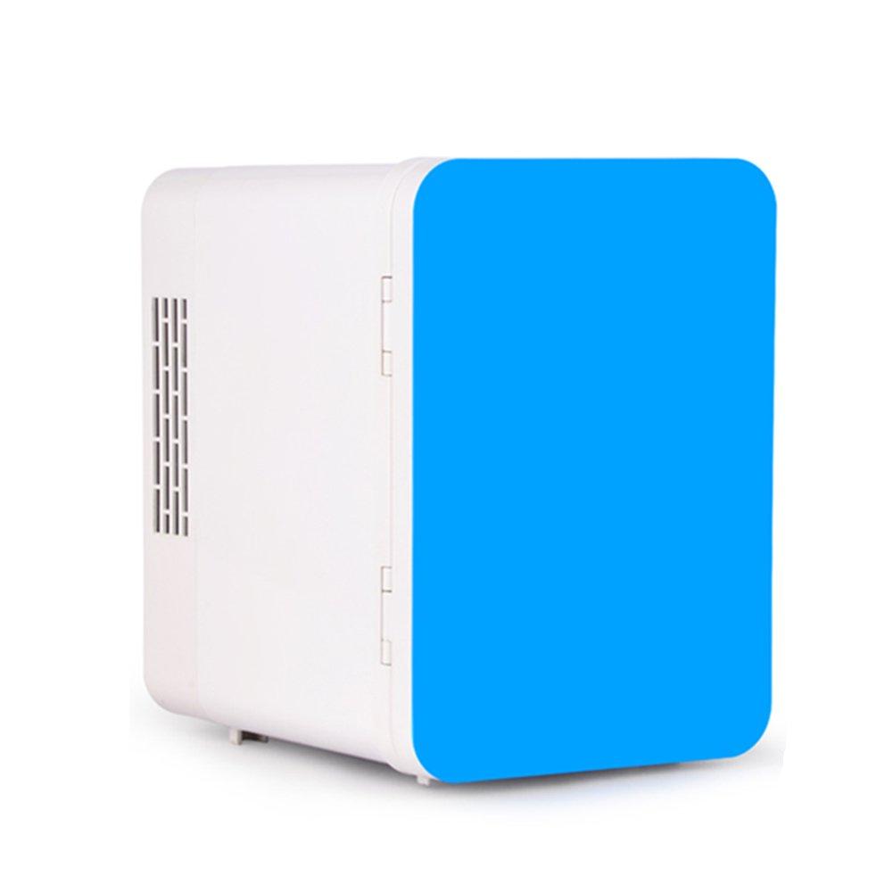 LIQICAI 4L Mini Kühlschrank Heizen Und Kühlen Zwei Anwendungen 12V 230V (Farbe : Blau)