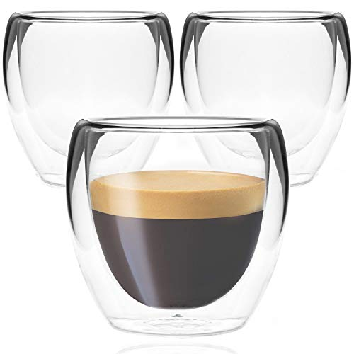 Youngever 3 Pack Espresso Cups