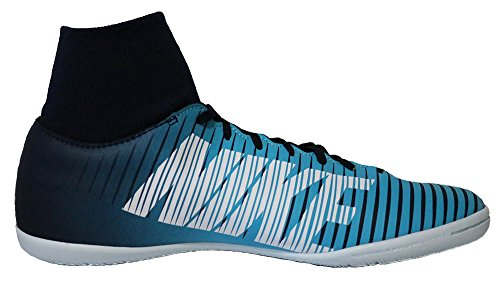 Nike MERCURIALX VICTORY VI DF IC Herren Fußballschuhe Obsidian / Weiß / Gamma Blau