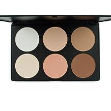 Outop Cosmetics Professional 6 Colors Contour Face Power Foundation Makeup Palette