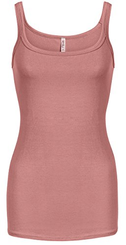 Simlu Rose Tank Top Women Regular and Plus Size Rose Camisole Essential Tank Tops For - Usa In Shop