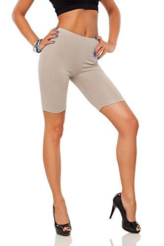 FUTURO FASHION Leggings Coton 1 2 Longueur sur-Genou Short Actif Sport  Pantalon Décontracté LK 81674fd6eebc