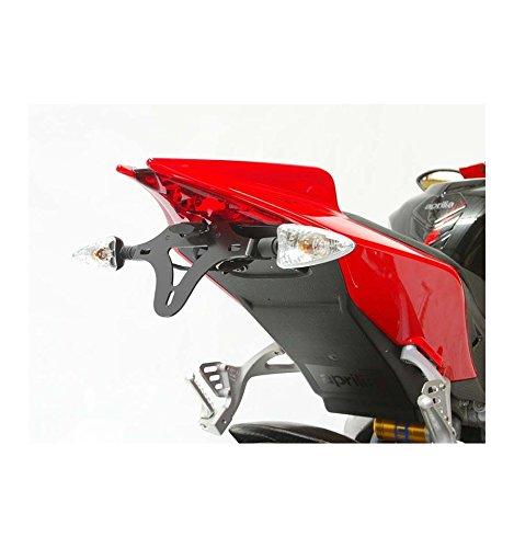 SUPPORT DE PLAQUE R&G RACING POUR RSV4 1000 '10-11, TUONO V4 2011 ET 125 RS4