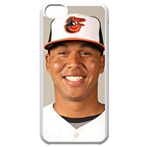 MLB Iphone 5C White Baltimore Orioles cell phone cases&Gift Holiday&Christmas Gifts NBGH6C9126074