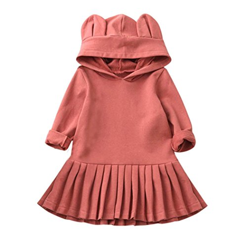 hooded dress with ears - 6