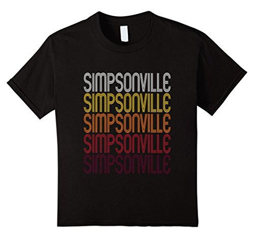 Kids Simpsonville, KY | Vintage Style Kentucky T-shirt 4 - Simpsonville Ky