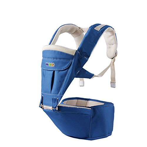QIDI Babytrage Front Halten Multifunktional Polyester Sitzender Hocker Größenhocker (Farbe   T-3)