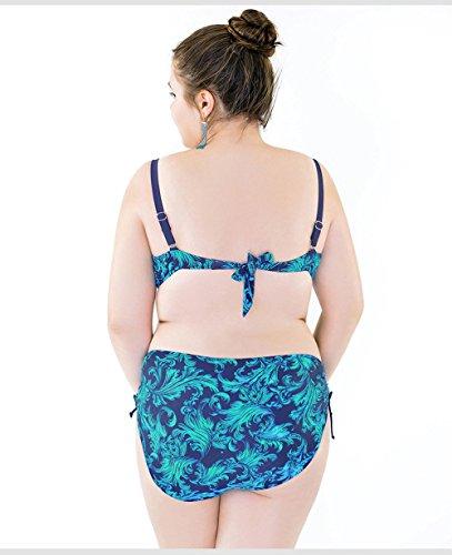 A Con Blue Costumi Push Bottom Bikini Ferretto Da Costumi Bagno Donna Alta Top Halter Bagno Senza Vita Costumi Da Da Bagno Up Ferretto Imbottito tZqpngp8
