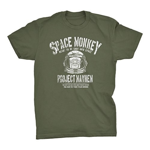 Space Monkey Ready To Sacrafice Himself For The Greater Good - T-shirt - Military -