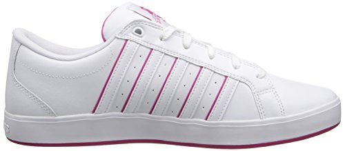 K-Swiss Women's Gallen lll Classic Court Style,White/Berry,11 M US