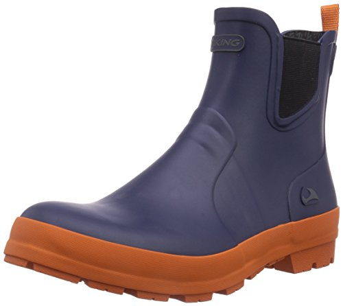 Orange Uomo Gomma 531 di Bergen Navy Blu Viking Stivali an0FAx