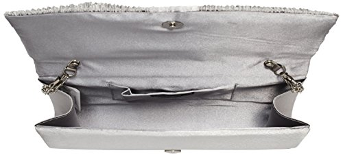 Clutch Bulaggi Silber Argenté Suwe Pochettes w7xqxY56T