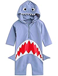 d3f3220509 Toddler Swimsuits Baby Boy Swimsuit One-Piece Rash Guard Infant Sun  Protection Swimwear