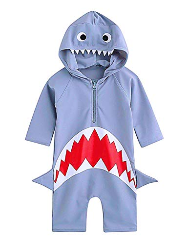 infant shark swimming suit - 3