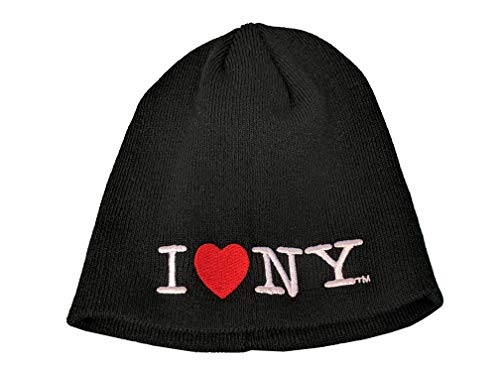 No Fold Heart Winter Hat Beanie Skull Cap Officially Licensed Black
