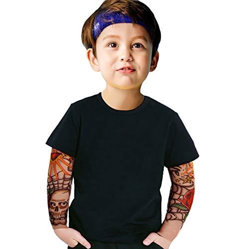 Koupa Little Toddler Boys Cotton T-Shirt with Tattoo