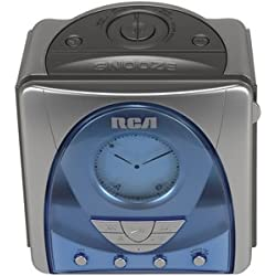 RCA RP5620 SmartSnooze Dual Wake AM/FM CD Clock Radio (Discontinued by Manufacturer)