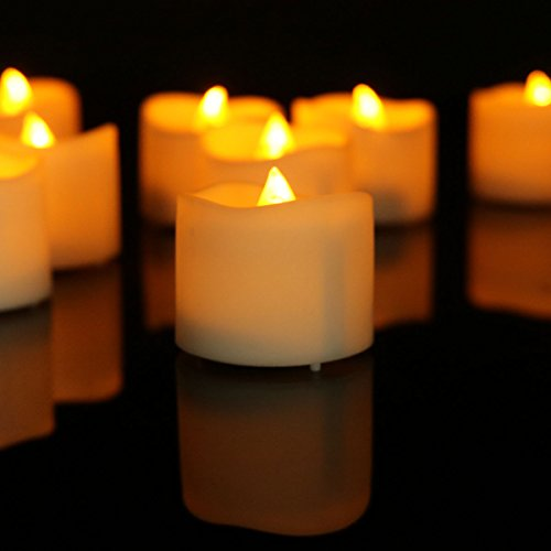 Micandle Yellow Flickering Flameless Candles