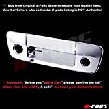 A-PADS Chrome Tailgate Cover for Dodge RAM 1500 2009-2017 - with Keyhole & with Camera Hole