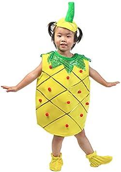 Traje verduras frutas niños Ropa de fiesta de piña para niños ...