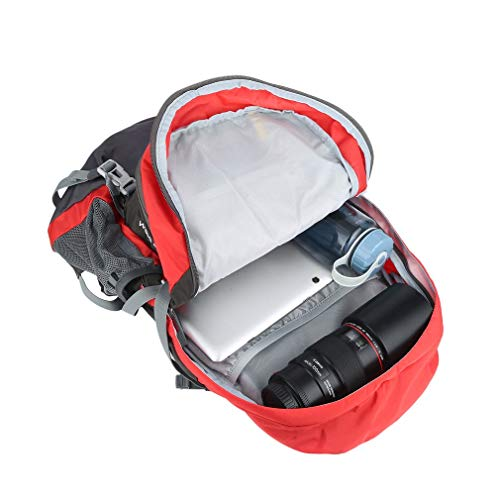 YTYC Waterproof Mountaineering Backpack Breathable Back Support Large Capacity Bag by YTYC (Image #4)