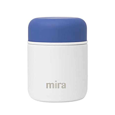 Amazon.com: MIRA - Tarro de almuerzo de acero inoxidable con ...