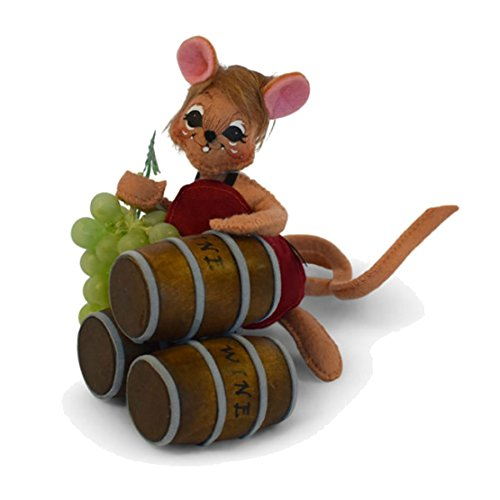 Annalee - 5in Wine Cellar Mouse